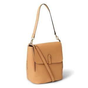 Gap Natural Brown Convertible Backpack